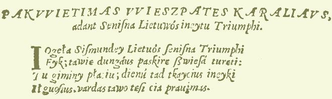 Lietuo Lietuwa Lietvva Litvanica