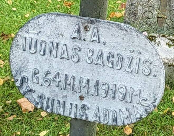 Baugiedzis Juonys - Jonas Bagdžis